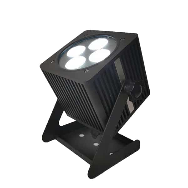 4x18w Led Battery Uplights Outdoor