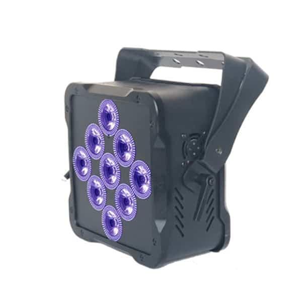 9x18w Led Battery Rgbwa+uv